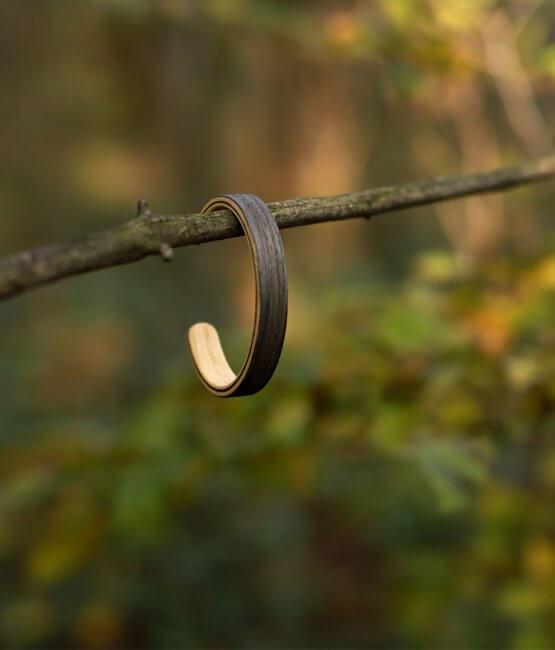 Picea - drevený náramok
