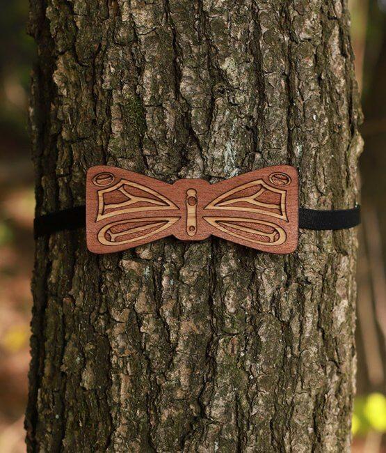 Rhopal - Drevený motýlik