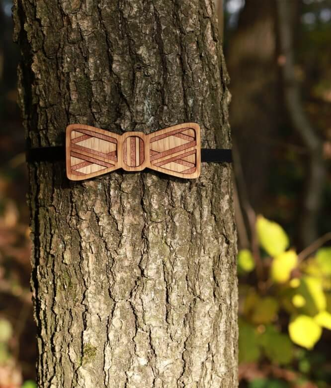 Vidlochvost - Drevený motýlik