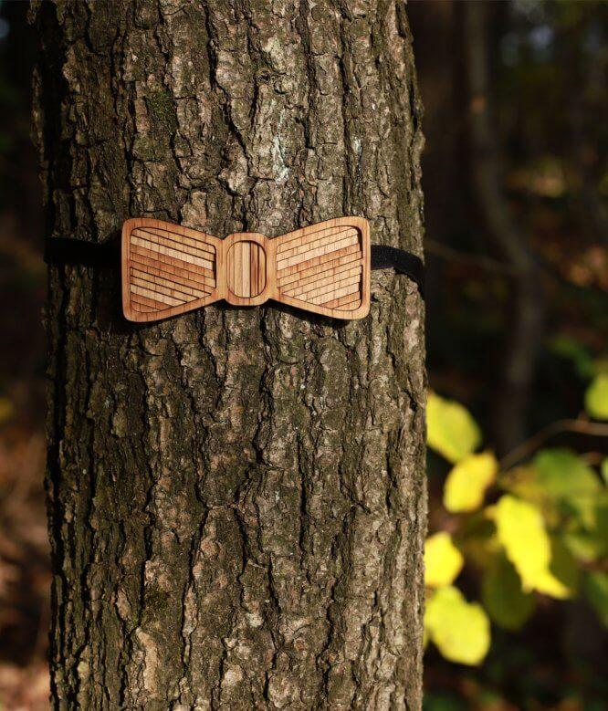 Jasoň - Drevený motýlik