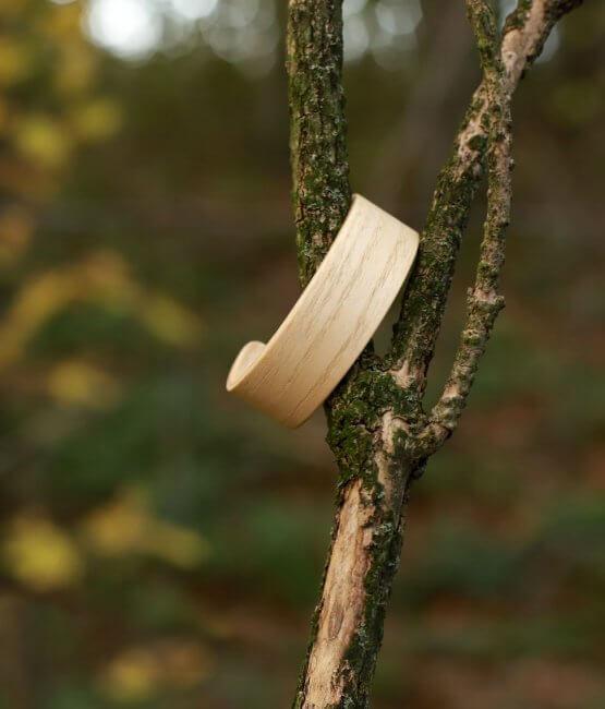 Abies Magni - drevený náramok