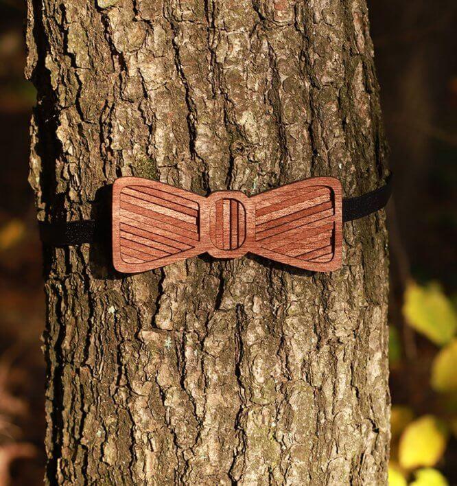 Ohniváčik - Drevený motýlik